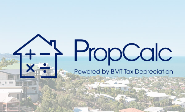 PropCalc BMT Tax Depreciation